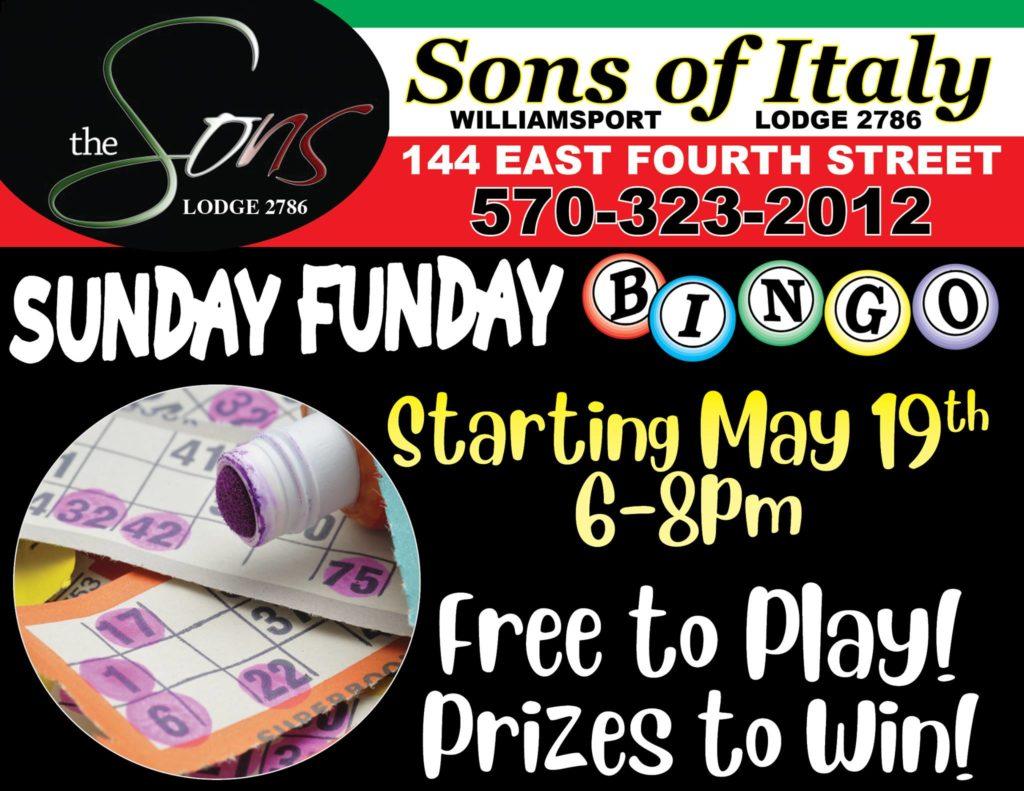 Sunday Night - Bar Bingo