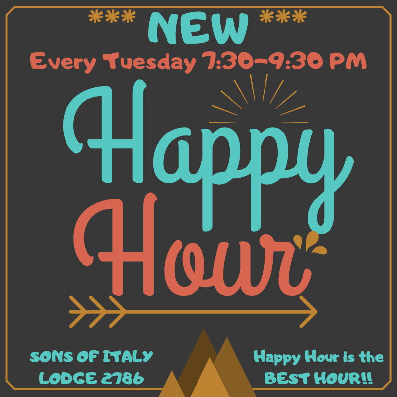 Tuesday Night - Happy Hour